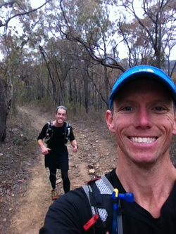 Ultra trail run Dry Diggings Track